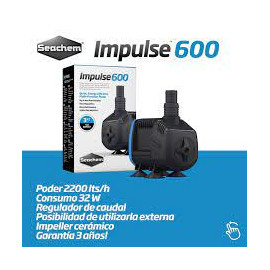 Seachem Bomba Impulse 600. 2.200l/h. 2m