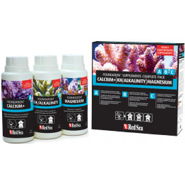 Reef Foundation Pack A+B+C (Ca,Mg,KH) 250mL