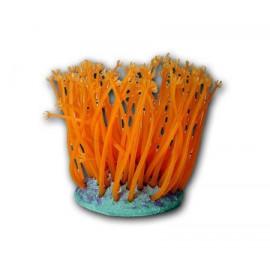 Decoración Corales Fluor Neon Goniopora Naranja L