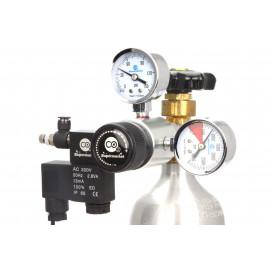 Regulador CO2 Manometro con electrovalvula Chihiros