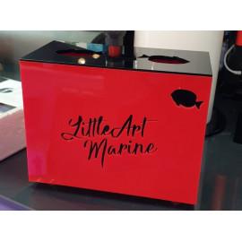 Caja Roja Filtracion Little Art Marine