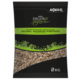 Aquael Grava Natural Fina 1.4-2 mm 2kg