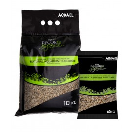 Aquael grava natural media 3-5mm 2 kg