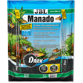 Manado sustrato para plantas JBL 10 kg DARK