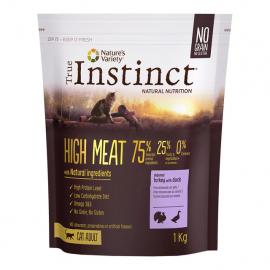TRUE INSTINCT HIGH MEAT ADULT TURKEY 1KG