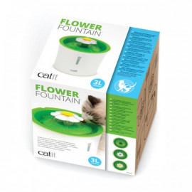 BEBEDERO FLOWER FOUNTAIN 3 L CATIT