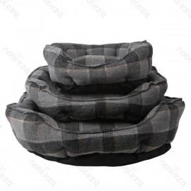 Cama de lino gris M