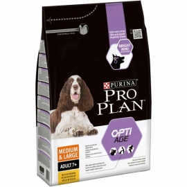 PURINA PRO PLAN MED Y GRDE 7+ OPTIAGE POLLO 3KG