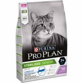 Purina Pro Plan Sterilised +7 Pavo Para Gatos Maduros Esterilizados - 3kg
