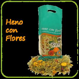 HENO CON FLORES RIBERO 500GR