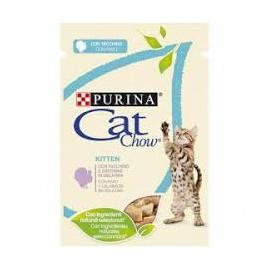Alimento Húmedo Purina Cat Chow Pollo Para Gatos Junior 85 Gr