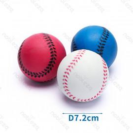 Pelotas de espuma imitación béisbol 9 cm