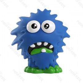 Monstruo de plastico azul