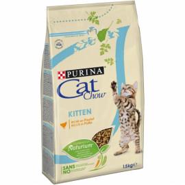 PURINA CAT CHOW Gatitos rico en Pollo 1,5kg