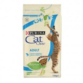 Purina Cat Chow Salmon & Atun Para Gatos - 1,5kg