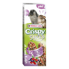 VERSELE LAGA stick crispy frutas del bosque (conejo / chinchilla)
