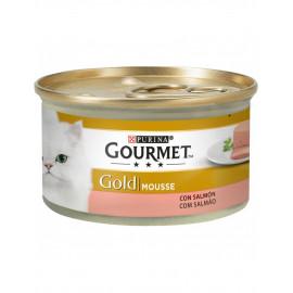 Purina Gourmet Gold Adult Mousse Salmón 85 gr