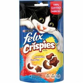 PURINA® FELIX® Crispies Buey y Pollo 45g