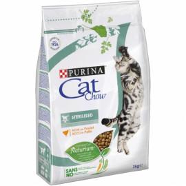 PURINA CAT CHOW Esterilizado rico en Pollo 3kg