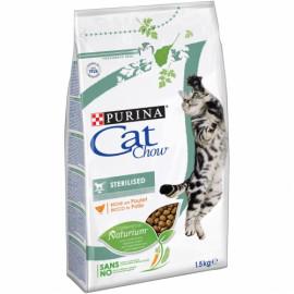 PURINA CAT CHOW Esterilizado rico en Pollo 1,5kg
