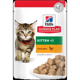 Science Plan™ Feline Kitten Pollo (Bolsita Pouch) 85g