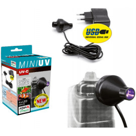 Aquael lampara ultravioleta mini-UV- LED