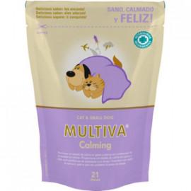 MULTIVA CALMING GATO Y PERRO PEQUEÑO 21 CHEWS Relajante de Perros
