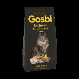 GOSBI EXCLUSIVE GRAIN FREE DUCK & FISH CAT STERILIZED 400 g