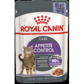 ROYAL CANIN FELINE STERILISED APPETITE CONTROL GELATINA 85gr