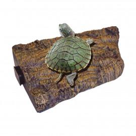 Isla flotante pequeña para tortugas