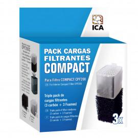 Pack Cargas Filtrantes para Filtro COMPACT 200