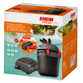 EHEIM PRESS7000 - set completo de estanque con filtro de presión y CLEARUVC-9