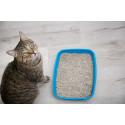 Arena y lechos absorbentes gatos