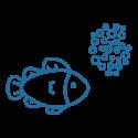 Alimentacion peces estanque